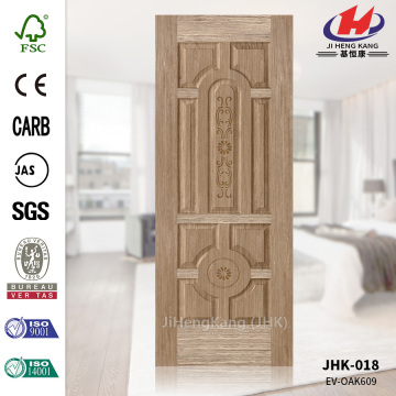 Melamine Cheap EV-Oak India HDF Veneer Door Skin