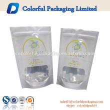 bolsas de embalaje con cierre hermético de la hoja de aluminio de la categoría alimenticia que imprimen con el logotipo
