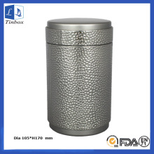 Round Tea Tin Storage Box Packaging