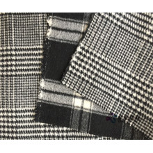 Double Face Houndstooth 100% wolstof