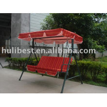 HL-63032 red 3 person swing seat