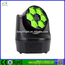 China supplier moving head 6pcs 10W 4in1 bee eye led beam moving head