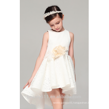 one year old girls dresss scoop neckline sleeveless net fabric for girls dress baby dresses ED773