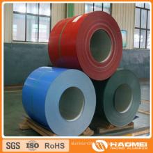 Aluminiumfarben beschichtete Spulen
