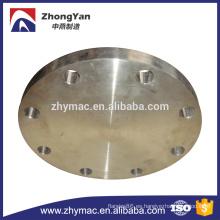 ANSI B16.5 ASTM A105 brida ciega de pala para petróleo y gas