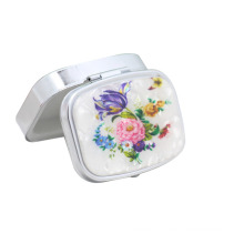 6-Cases Metal Pill Box, Portable Pill Box