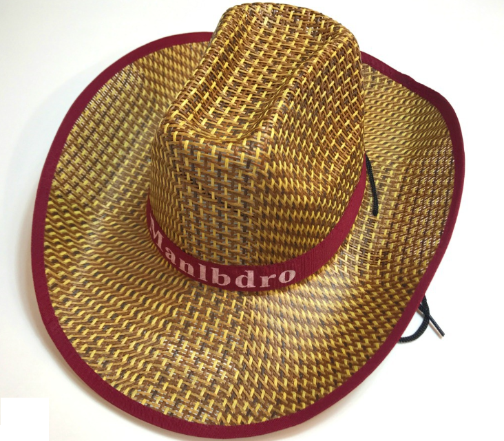 Sombrero de paja Stakerope Fashion Men Cowboy