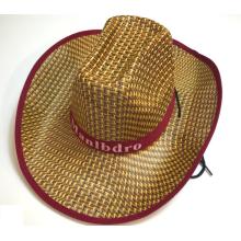 Chapeau de paille de cowboy de mode de Stakerope