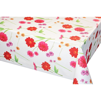 Nice Printed Tablecloth With Non Woven Backing