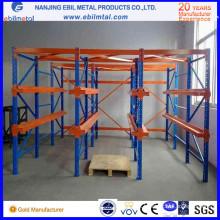 Movimentação metálica amplamente usada na alta qualidade do racking da pálete