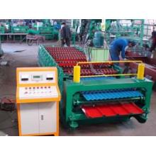 ISO9001: 2008 Máquina formadora de rolos de dupla camada de aço colorido