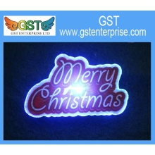 Electric Merry Christmas Signs