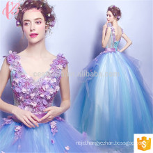 tortoise color Suzhou sexy back open evening dress