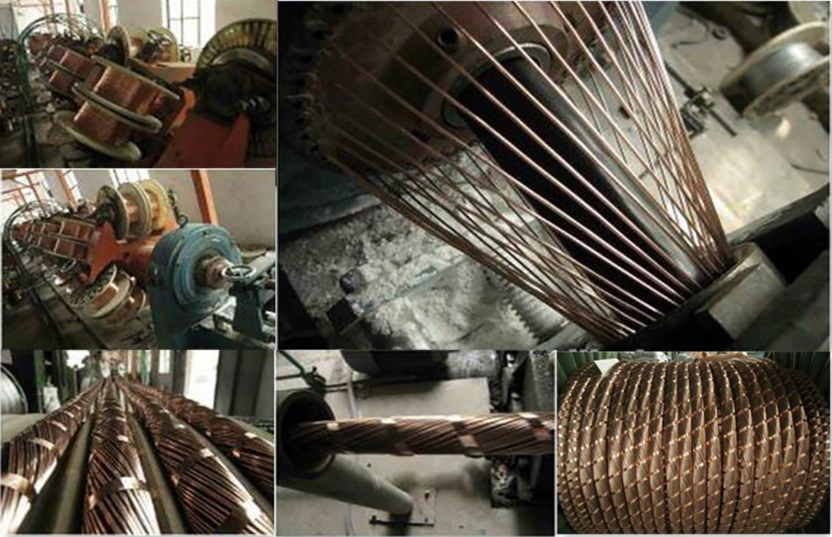 copper wire screen procedure