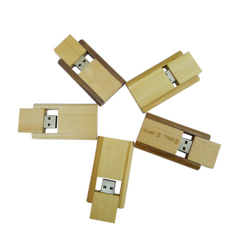 New Style Swivel Wood USB Pen Drive Wholesale