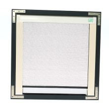 Retractable Screen window 160 * 160 Wit PVC-frame