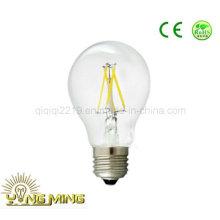 3.5W A60 Clear Dim E26 120V Home Light LED Filamento Bulbo