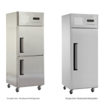 Refrigerador comercial barato da porta do preço barato, congelador