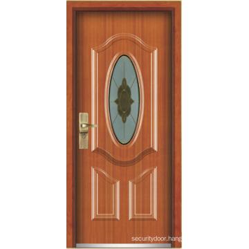 Steel Wooden Armored Door (YF-G9017)