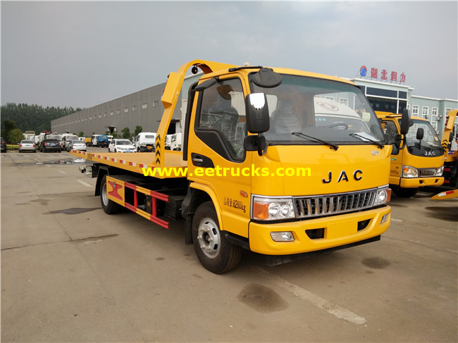 JAC 4 Ton Wrecker Rescue Vehicles