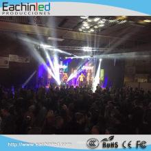 P4.81Stage Hintergrund Bildschirm, Full Color Vorhang Video Wall Display im Freien