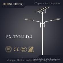 Doppelarm LED Solar Straßenlaterne mit 5 Jahren Garantie