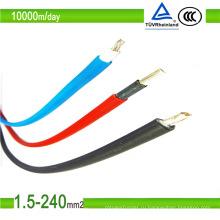 Хорошее качество заводская цена солнечного фотоэлектрического кабеля с сертификацией TUV