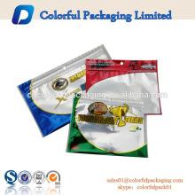diseño personalizado con cierre ziplock señuelos de pesca señuelo de embalaje agujero