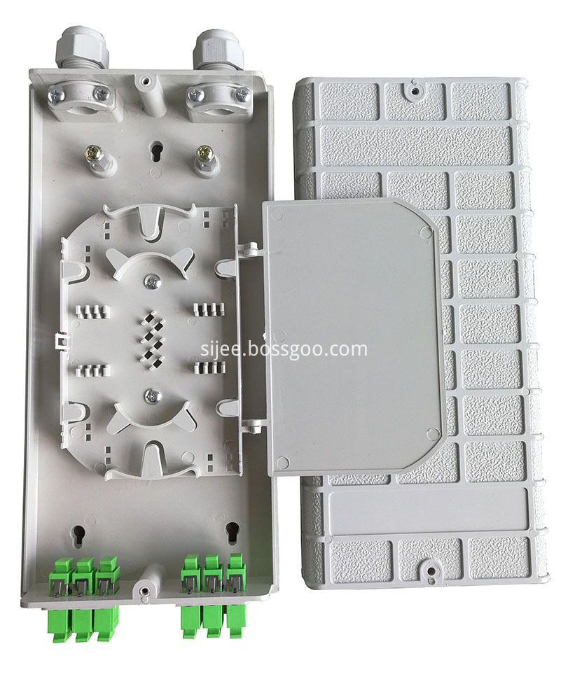 Fiber optical termination box
