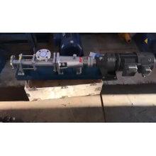G high efficiency single stage screw slurry pump