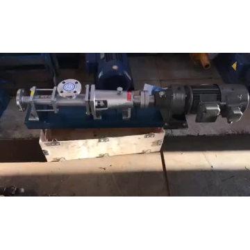G sanitary tomato paste stator mono screw pump