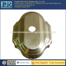 Custom stamping 1mm thick brass cover for door handle