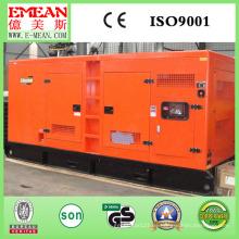 Generador diesel silencioso refrescado aire CUMMINS del motor 80kw (100kVA)