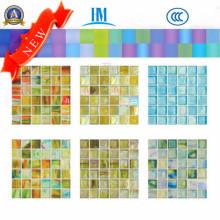 Mosaico de vidro / Colorido / Piscina / TV Muro de parede / vidro