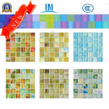 Mosaïque en verre / Coloré / Piscine / TV Mur / Mosaïque en verre