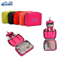 fashion design hanging toiletry cosmetic bag for makeup tools