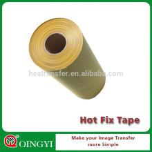 Cinta de papel de acrílico caliente del rhinestone de la transferencia de calor del arreglo