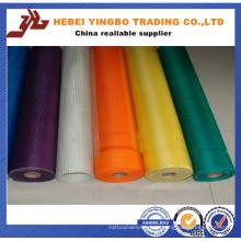 160g / 165g, filet de maille de fibre de verre de plâtre 4 * 4/5 * 5 avec du bon latex de l'usine chinoise