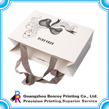 Printed paper bags wholesale reusable shopping bags