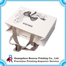 Напечатанные бумажные мешки оптом многоразовые сумки