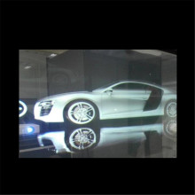 100mic Clear Rear Projection Film