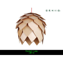 modern wood pendant lamp for home decoration