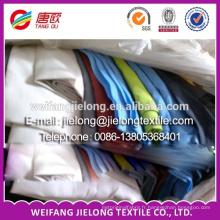 """polyester et coton T / C popeline teinte nature 57/8 """"lot de stock de tissu stock pour tissu"""