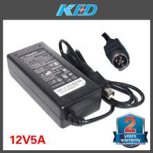 Cargador de LED 12V 5A 60W transformador del adaptador de la CA