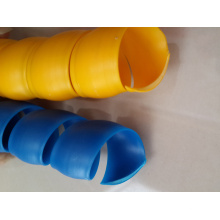 Produce Spiral Plastic Protective Sleeve