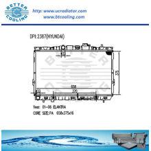 Auto radiator for Hyundai