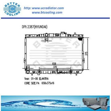 Radiateur automatique pour Hyundai