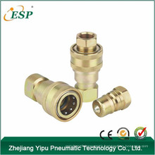 yuyao esp steel as-s2 close type hydraulic quick coupling