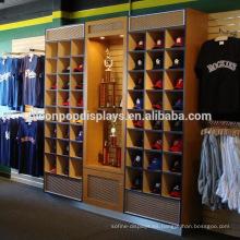 Soporte Baseabll Cap Display Stand En tienda Merchandising