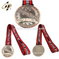 Bespoke antique bronze custom zinc alloy metal jujitsu medalla medals
